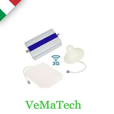Vms Kit Amplificatore Ripetitore Segnale Gsm Umts 3G Antenna Tim Wind Vodafone 3
