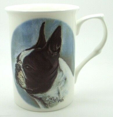 ~ Boston Terrier ~ Bone China Dog Mug
