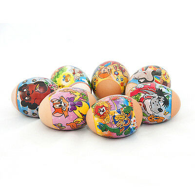 Russian Easter Egg Shrinking Wraps/Sticker/Sleeves Favourite Russian cartoons