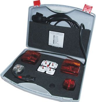 VOSA MOT Approved 13 PIN Towing Socket Tester