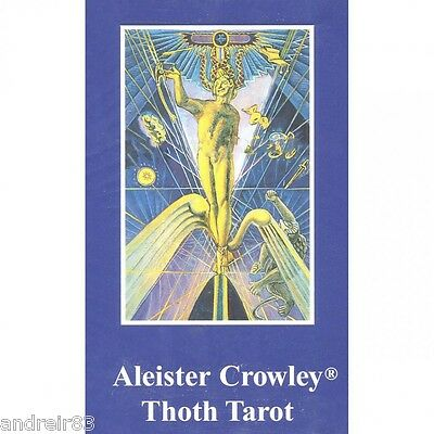 Tarot Cards by Aleister Crowley Thoth Taro Deck 78 cards + instruction TC1