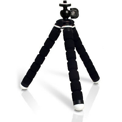 PhotR Mini Small Universal Flexible Tabletop Handheld Tripod Digital Camera Foam