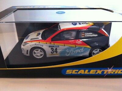 Scalextric C2496 Ford Focus WRC No 34