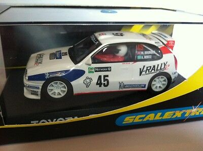 Scalextric C2183 Toyota Corolla V-Rally No 45 M Brundle A Hertz