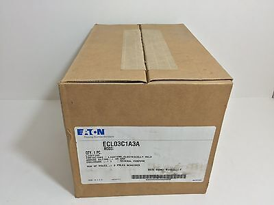 New! Eaton Lighting Contactor Ecl03C1A3A