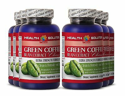 Diet Pills - Green Coffee Cleanse 800mg - Clean And Detoxify Your Body Pills 6B