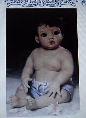 """Doll Mold """"Mikey""""  head, Cindy Rolfe"""