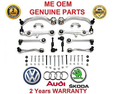 #ME CONTROL ARMS SET KIT Audi A4 B6 8E B7 8H FaceLift LIFT #SUSPENSION WISHBONES
