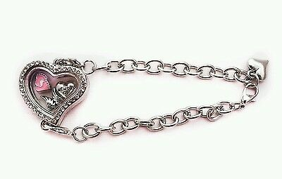 In Memory Of My Daughter Loss Living Locket Bracelet Charms Baby