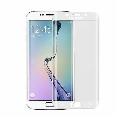Full Curved 3D Tempered Glass Lcd Screen Protector For Samsung Galaxy S6 Edge