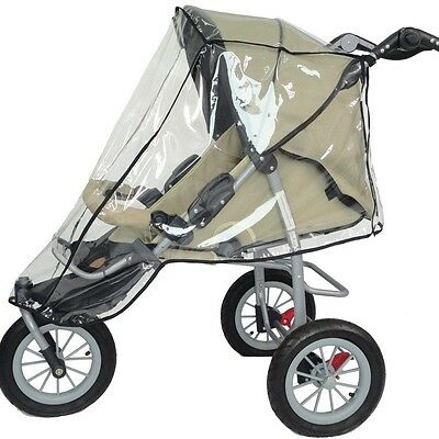 Universal Buggy Baby Kids Pet Pushchair Stroller Pram Transparent Rain Cover New