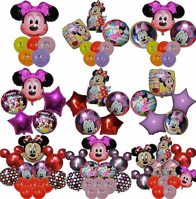 Minnie Mouse Balloon Birthday Party Bag Gift Centerpiece Decoration Favor Toy