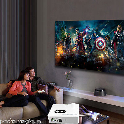 Excelvan CL720D 3000Lumens Digital TV Proyector HD LED Home Cinema 1080P 3D HDMI