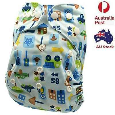 Reusable Modern Cloth Nappies Pocket Diaper liner insert One Size Fits All (D96)