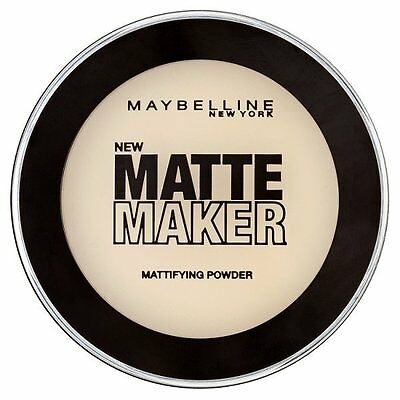 Maybelline Matte Maker Powder( Nude Beige,  Classic Ivory)