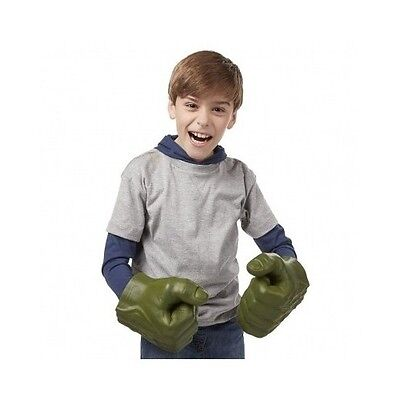Hulk Marvel Hands Incredible Smash Hand Avengers Green Gloves Boxing Punching