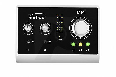Audient ID14 Audio Interface and Monitor Controller