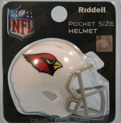 NEW NFL American Football Riddell SPEED Pocket Pro Helmet ARIZONA CARDINALS