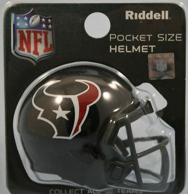 NEW NFL American Football Riddell SPEED Pocket Pro Helmet HOUSTON TEXANS