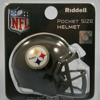 NEW NFL American Football Riddell SPEED Pocket Pro Helmet PITTSBURGH STEELERS