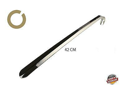 42 cm metal shoehorn by Cosmetic Leather