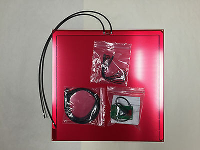 """12"""" X 12"""" Heatbed Kit w/Relay, Prewire and Thermistor for 3D Printing"""
