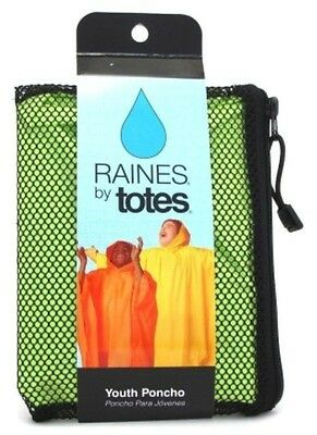 Raines Rain Poncho Youth Size Assorted Colors