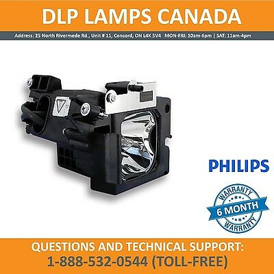 Sony XL-5000 Philips Replacement TV Lamp with Housing