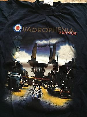 The Who- Quadrophenia World Tour 1997 T-Shirt Size L