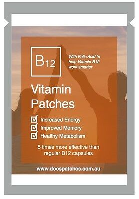 Docs Patches Methyl Vitamin B12 Transdermal Patches B-12 Methylcobalamin