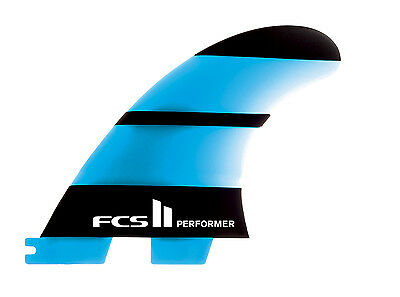 FcsII Performer Neo Glass Thruster Tri Fin Set In Large New & Genuine From FCS 2
