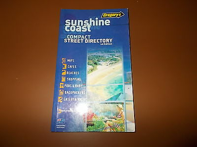 Sunshine Coast Compact street directory. 1st Edition