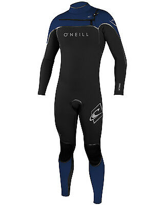 O'Neill Psycho 1 3/2mm Mens Wetsuit (2016) in Blue & Black
