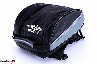 Universal Sportbike Seat Tail Bag Luggage Expandable - BY Bestem SYDNEY