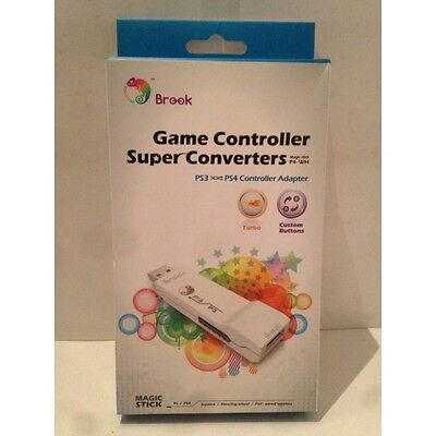 Adaptateur Brook Sony Playstation PS3 PS4