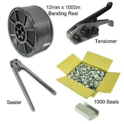 Strapping Banding Kit, Tools Strapping & 1000 Seals