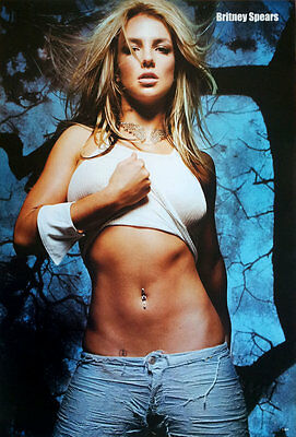 """Britney Spears Sexy POSTER 19""""x30"""" American Singer Actress Pop Dance Music V2"""