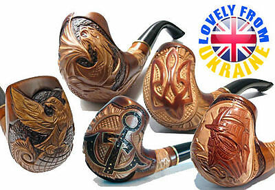 *50 + MODEL FOR CHOICE * New Hand Carved Tobacco Smoking Pipe Handmade by Artist