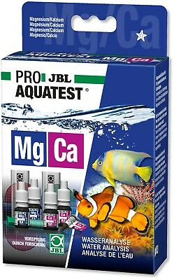 JBL Magnesium Calcium Salt Water Test Kit Mg Ca for Marine Tanks Corals