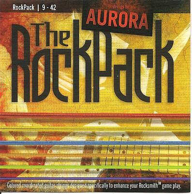 The RockPack - Rocksmith Coloured Electric Guitar Strings