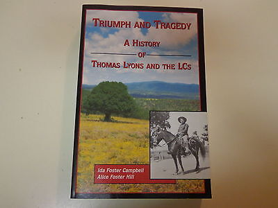 Thomas Lyons and the LCs 2003 SIGNED New Mexico Ranch Cattle Baron