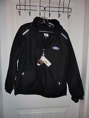 NWT Ladies Offical Licensed Ford Cold Snap Jacket Black Size M