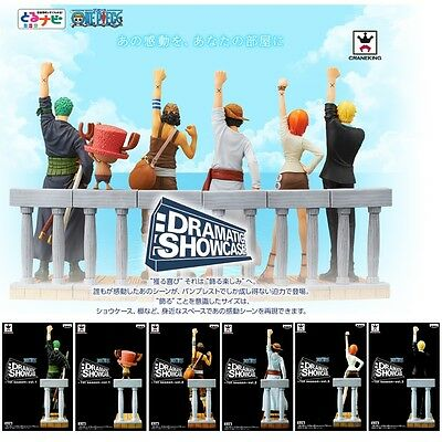 ONE PIECE DRAMATIC SHOWCASE 1st season Complete set BANPRESTO