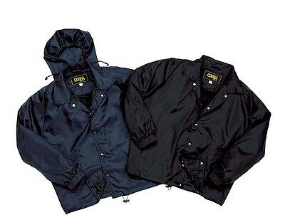 Men's Lined Hooded Windbreaker Jacket