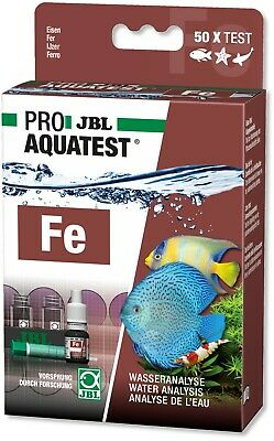JBL Iron Water Test Set Kit Fe for Fresh and Marine Salt Water - fertilisation