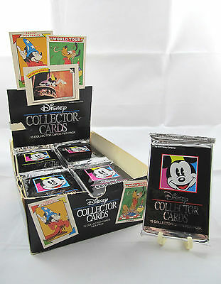 "1991 Impel ""Disney"" Collector Cards Sealed Glossy Vintage Original Foil Pack New"