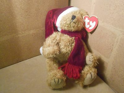 "Ty JANGLE Jointed 8"" Attic Treasure TEDDY BEAR PLUSH BOYS GIRLS 1993"
