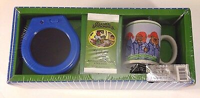 Celestial Seasonings Sleepy Time Herb Tea Coffee Mug Warmer Set 2004 Bears Cup