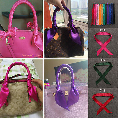 Scarves Lady Twilly Ribbon Tied The Bag Handle Decoration Ribbon Fashion Scarf
