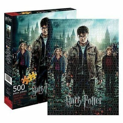 Harry Potter and the Deathly Hollows Part2 Movie Poster 500 Piece Jig-Saw Puzzle
